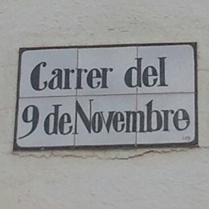 9 de Novembre